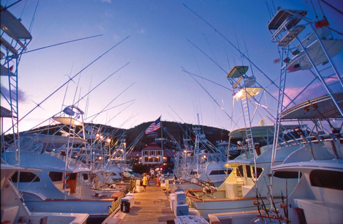 01-American Yacht Harbor-St Thomas Marina -Fishing Boats