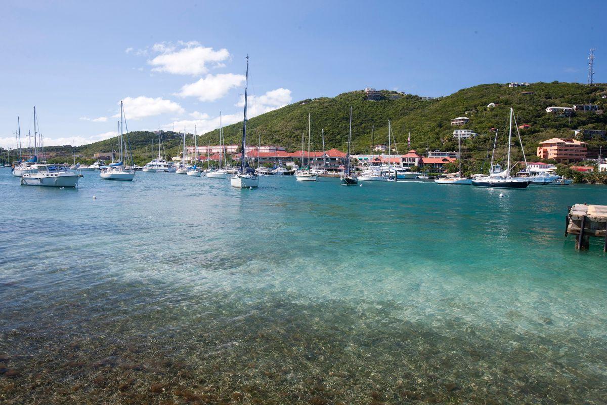 01-American Yacht Harbor-St Thomas Marina -Sailboats