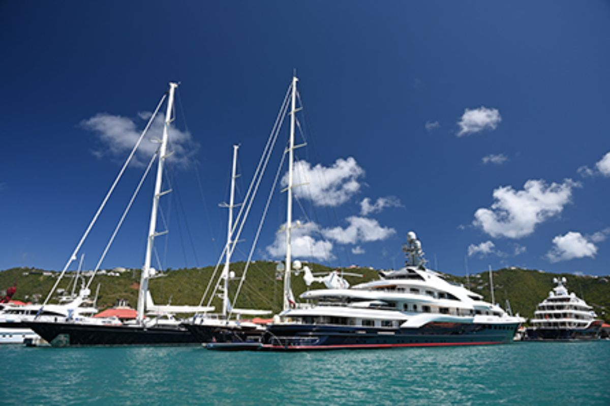 08-2020 - Yacht Haven Grande - St. Thomas - Mega and Sail at Dock