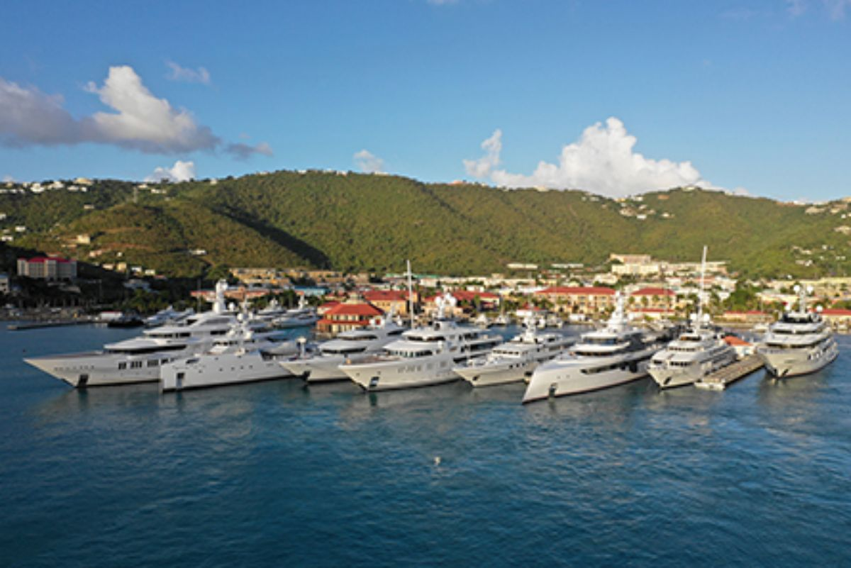 08-2020 - Yacht Haven Grande - St. Thomas - Vessels on Dock