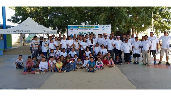 2019 IGtY Marina Cabo San Lucas at School Mexico 1