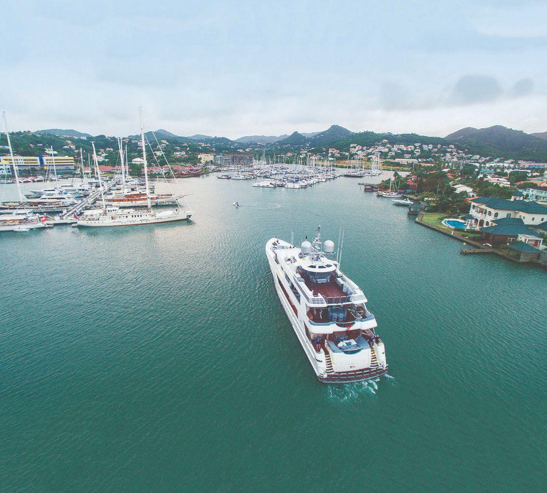 3-Rodney Bay Marina-Superyacht Marina Caribbean
