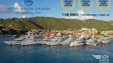An Unprecedented Achievement – Yacht Haven Grande, St. Thomas has won Superyacht Marina of the Year Award for a third time!