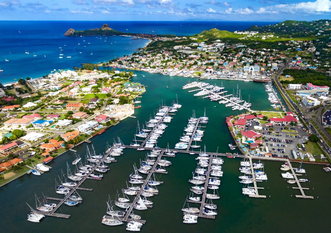 5-Marina Martinique-Rodney Bay-St Lucia-Marigot Bay