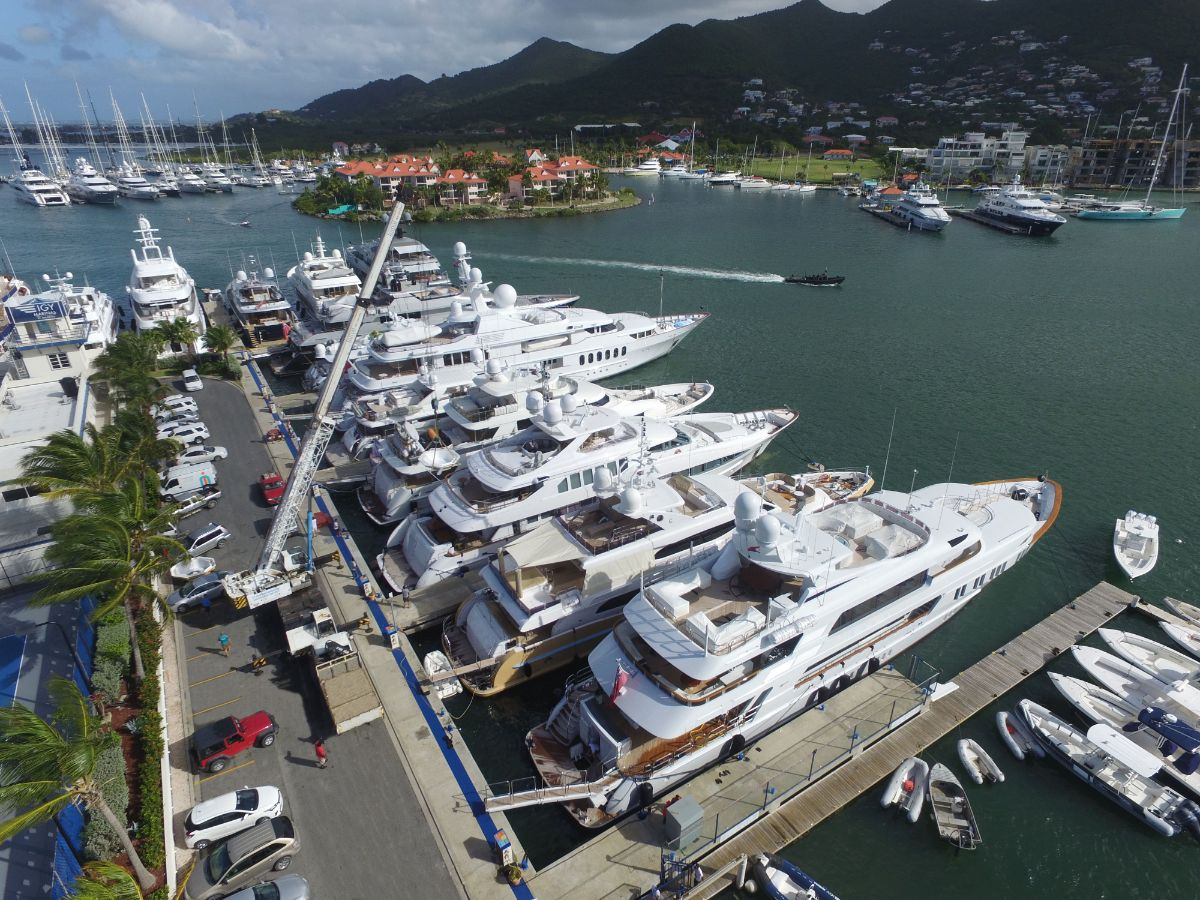 6-Caribbean Marina-Crane Accommodations-Superyacht Vessel Services