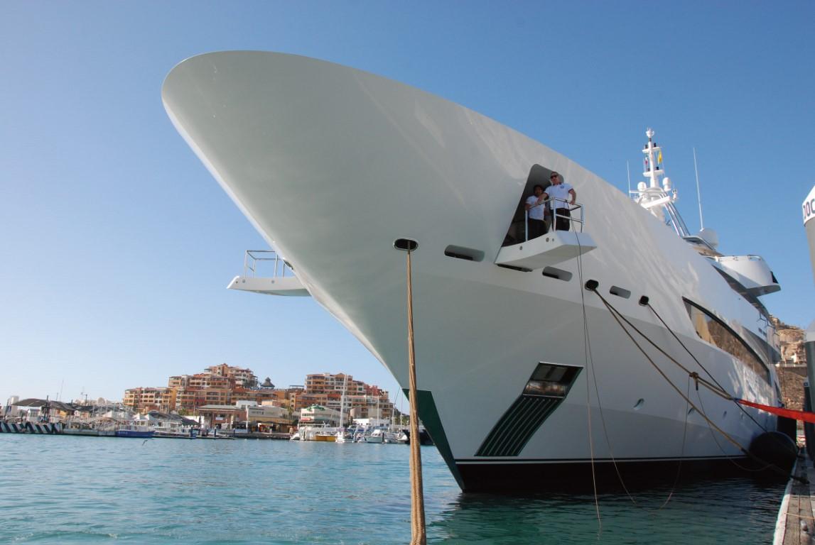 Marina Cabo San Lucas - Megayacht Bow