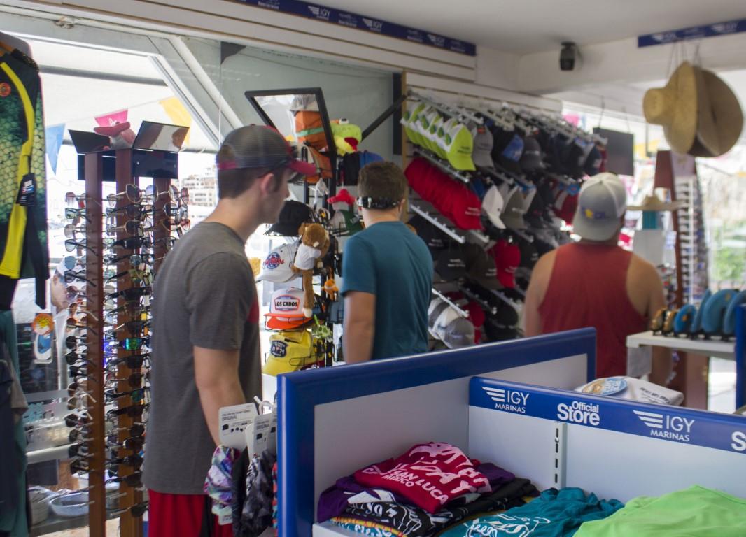 Marina Cabo San Lucas-Mexico Marina-Shopping