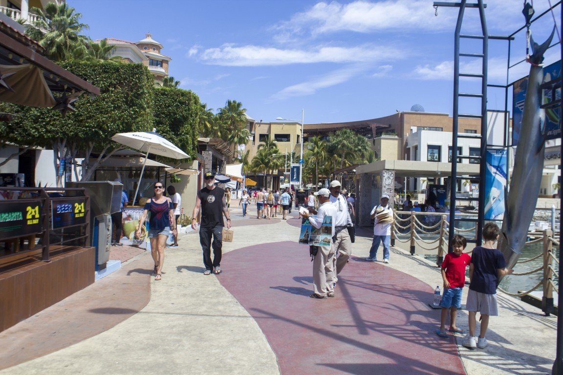 Marina Cabo San Lucas-Mexico Marina-Walking Around Shopping