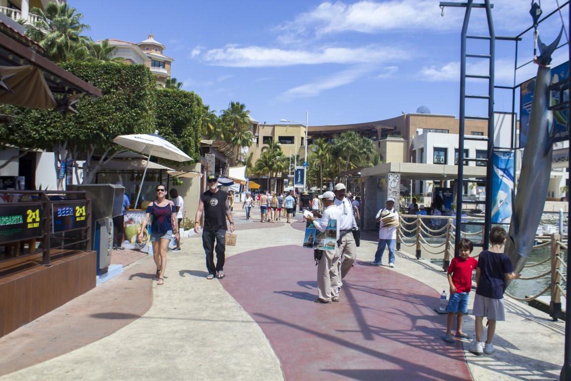Marina Cabo San Lucas-Mexico Marina-Walking Around Shopping