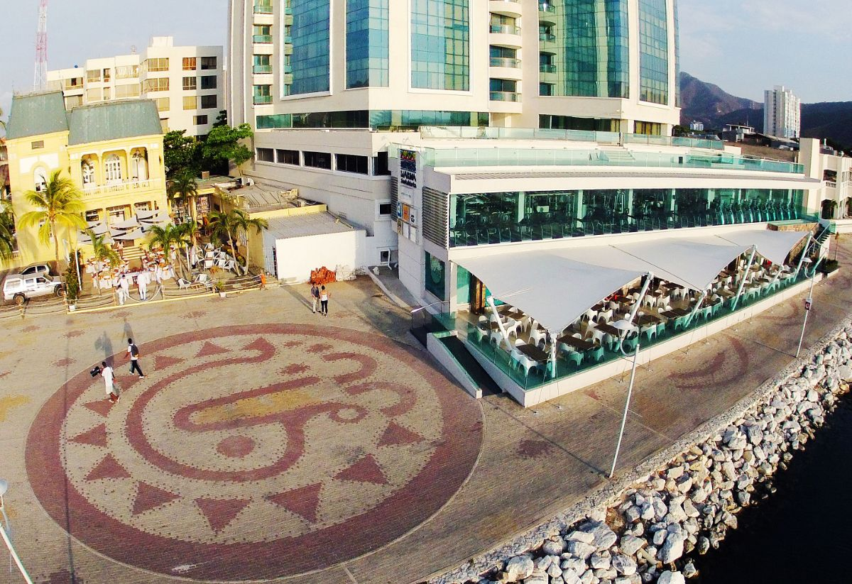 Marina Santa Marta-Colombia Marina-Restaurant