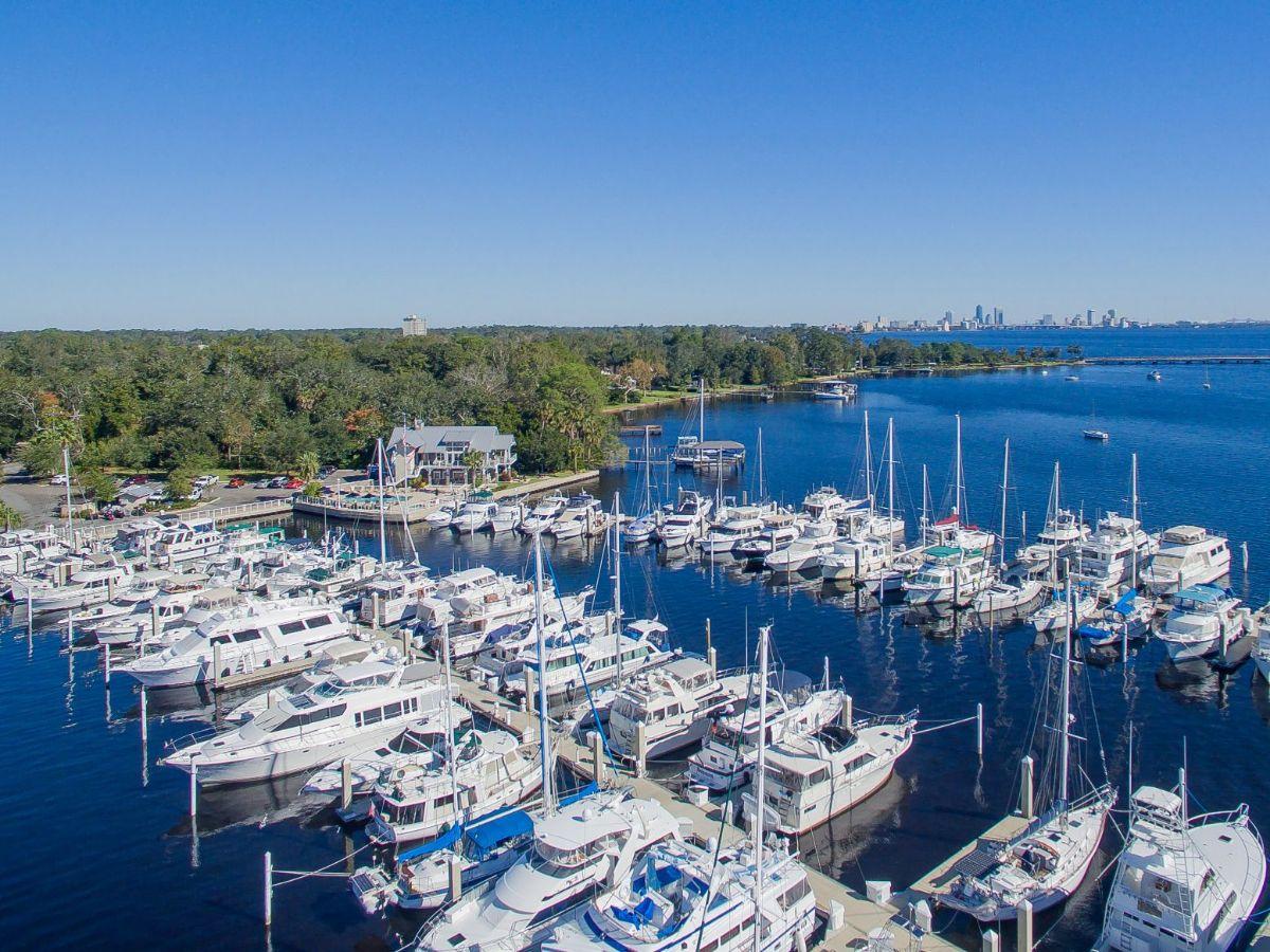 Marina at Ortega Landing - Jacksonville Marina - Aerial3_0