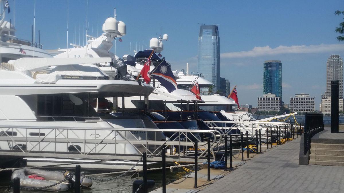 North Cove Marina at Brookfield Place - Manhattan New York City Marina - Docks