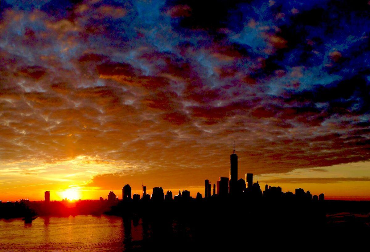 North Cove Marina at Brookfield Place - Manhattan New York City Marina - Sunset