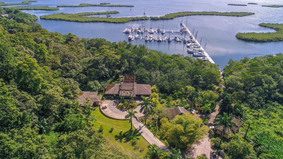 Red Frog Marina - Aerial