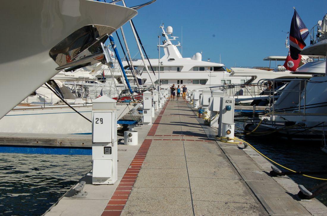 Simpson Bay Marina - St Maarten marina