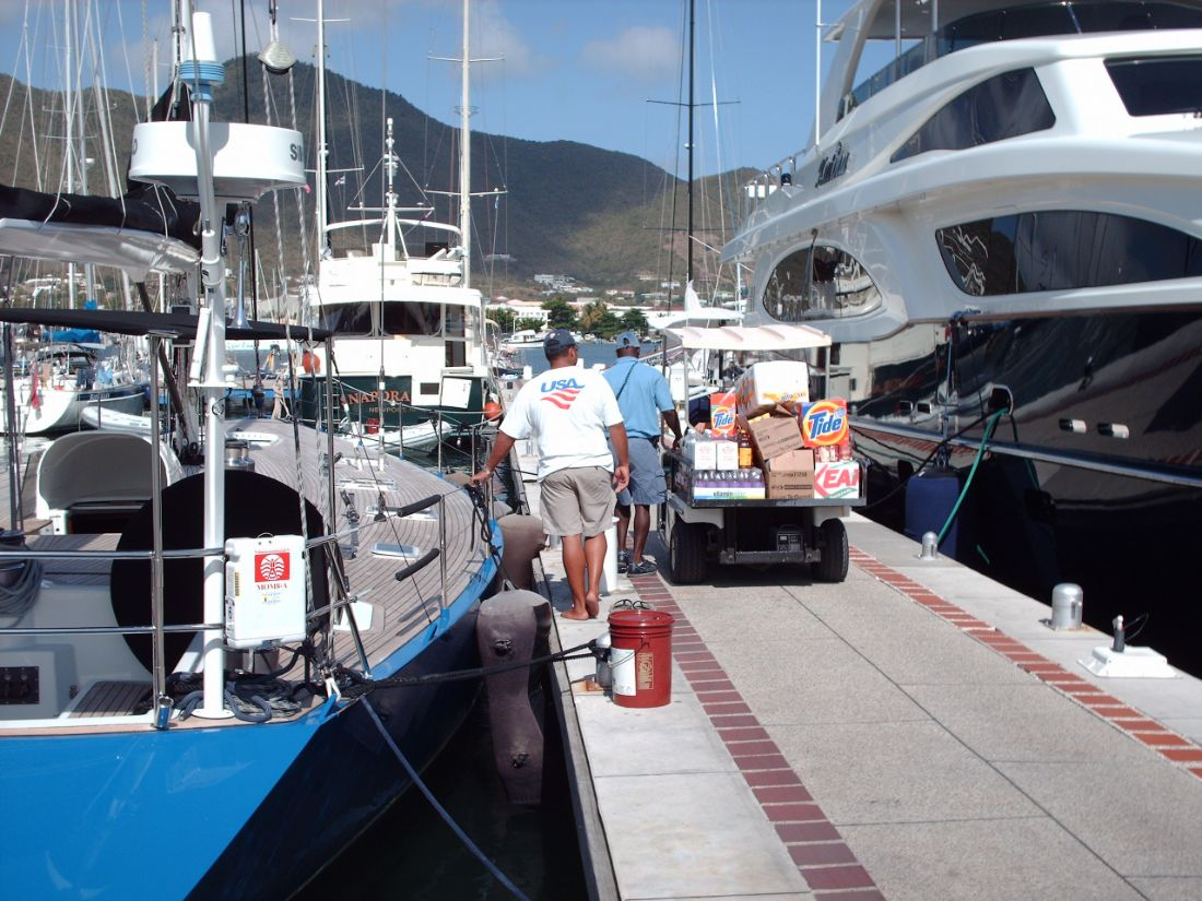 Simpson Bay Marina - St. Maarten Marina - Marina Docks