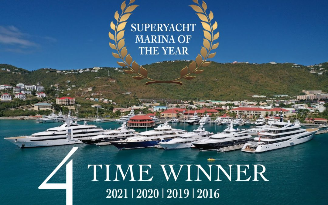 The World's Best Superyacht Marina is Yacht Haven Grande, St. Thomas Located in the United States Virgin Islands